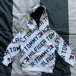 Boys Th logo hoodie